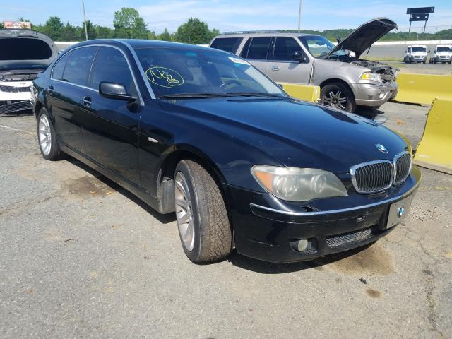 Salvage cars for sale from Copart Concord, NC: 2006 BMW 750 LI