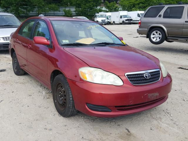 Salvage cars for sale from Copart Mendon, MA: 2005 Toyota Corolla CE
