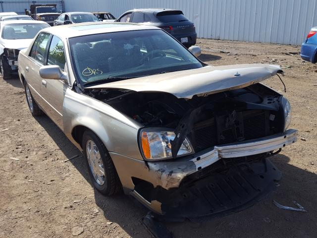 Cadillac Deville salvage cars for sale: 2005 Cadillac Deville