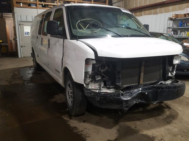 GMC salvage cars for sale: 2003 GMC Savana G25
