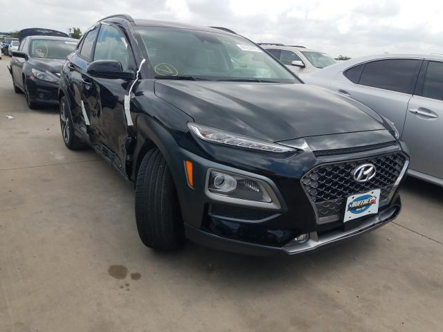 Salvage cars for sale from Copart Grand Prairie, TX: 2019 Hyundai Kona Ultim