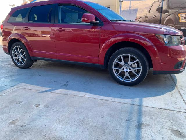 Salvage cars for sale from Copart Anthony, TX: 2019 Dodge Journey GT