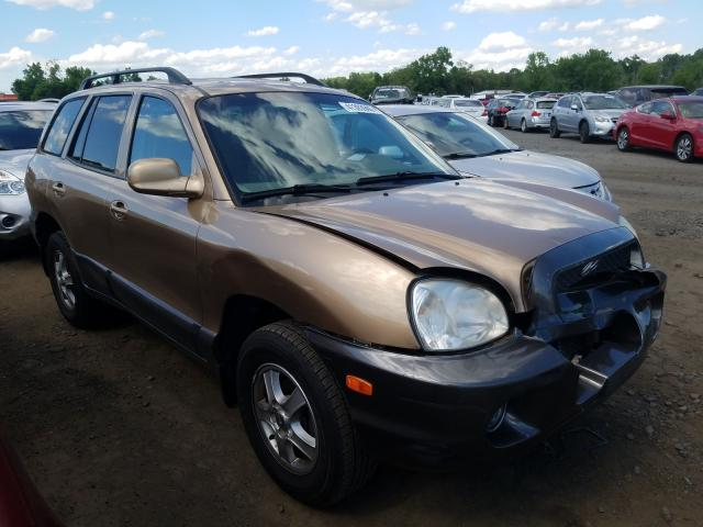 salvage title 2002 hyundai santa fe 2 7l for sale in new britain ct 41393940 a better bid car auctions