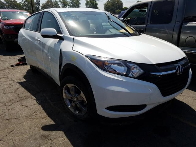 Honda HR-V LX salvage cars for sale: 2017 Honda HR-V LX