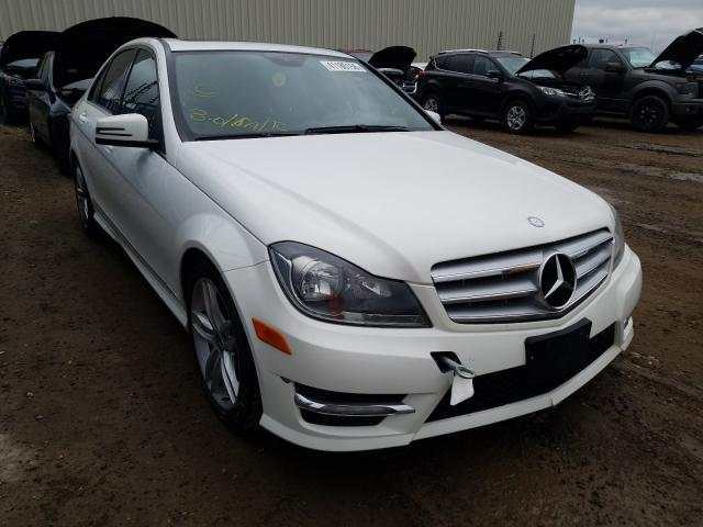 Mercedes-Benz salvage cars for sale: 2013 Mercedes-Benz C 300 4matic