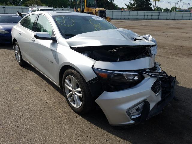 Salvage cars for sale from Copart Moraine, OH: 2018 Chevrolet Malibu LT