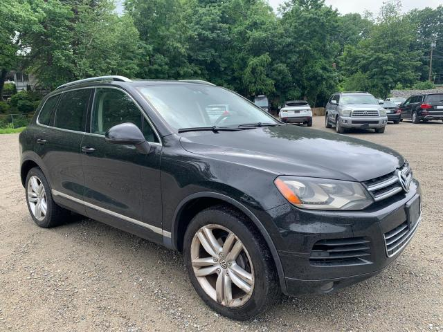 Salvage cars for sale from Copart North Billerica, MA: 2012 Volkswagen Touareg V6