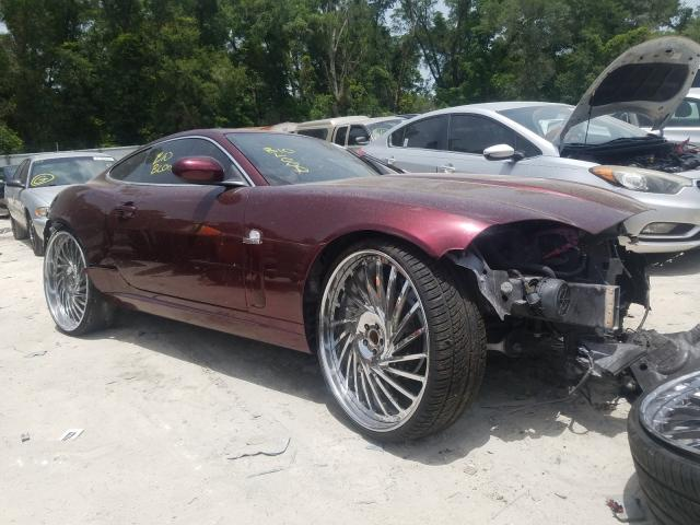 Jaguar salvage cars for sale: 2008 Jaguar XK
