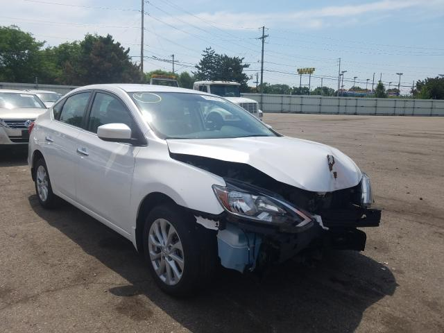Salvage cars for sale from Copart Moraine, OH: 2019 Nissan Sentra S