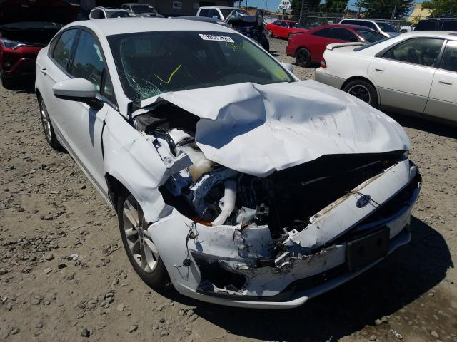 Salvage cars for sale from Copart Eugene, OR: 2019 Ford Fusion SE