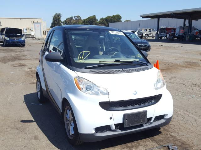 Smart salvage cars for sale: 2008 Smart Fortwo