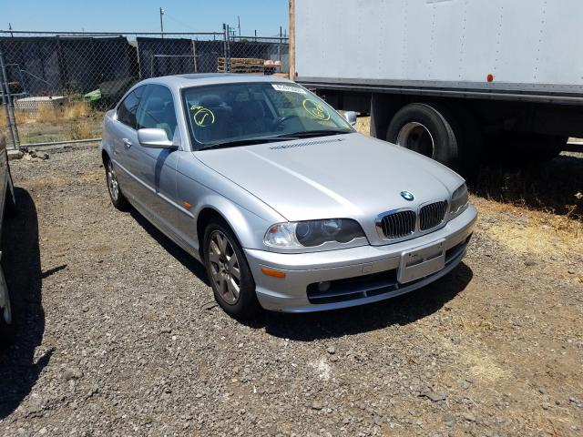 BMW 323 CI salvage cars for sale: 2000 BMW 323 CI