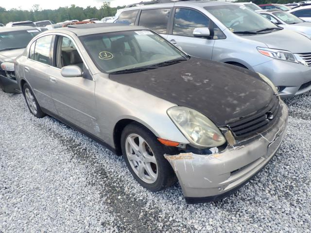 Salvage cars for sale from Copart Spartanburg, SC: 2003 Infiniti G35