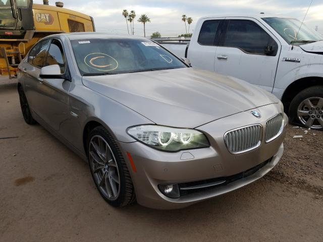 BMW salvage cars for sale: 2011 BMW 550 I