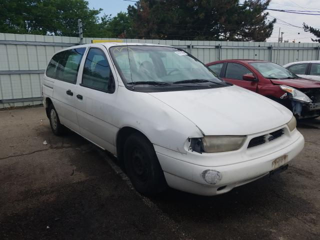Salvage cars for sale from Copart Moraine, OH: 1998 Ford Windstar