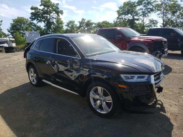 Salvage cars for sale from Copart Marlboro, NY: 2019 Audi Q5 Premium