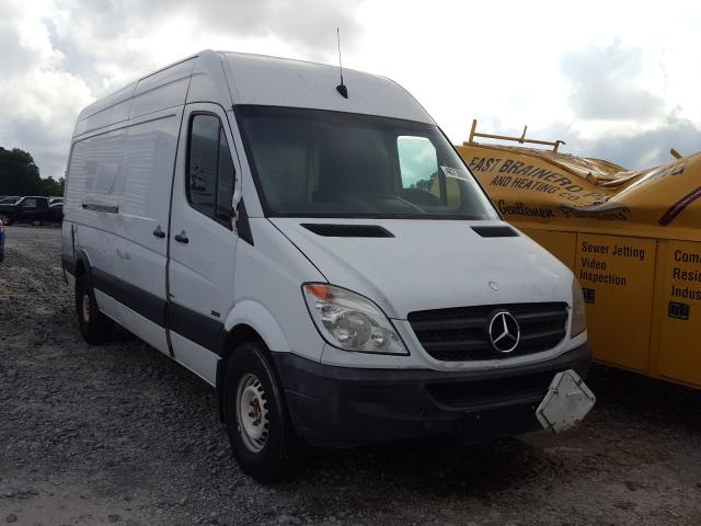 Salvage cars for sale from Copart Madisonville, TN: 2011 Mercedes-Benz Sprinter 2