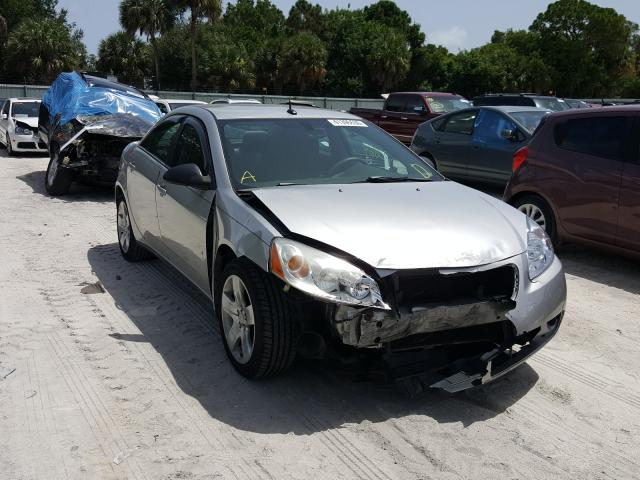 Salvage cars for sale from Copart Fort Pierce, FL: 2008 Pontiac G6 Base