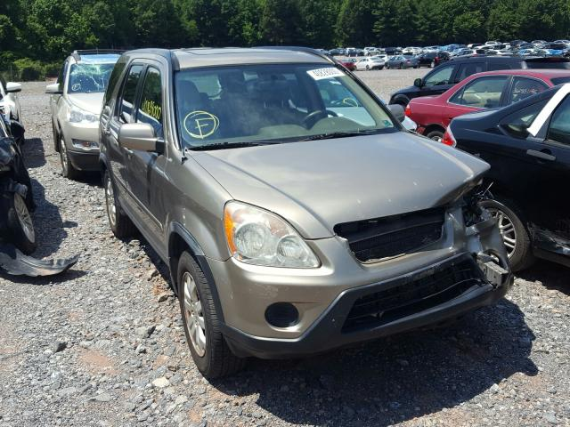 Honda CR-V SE salvage cars for sale: 2005 Honda CR-V SE