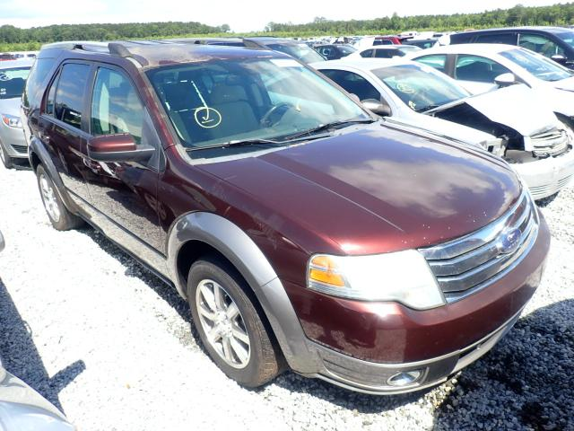 Salvage cars for sale from Copart Spartanburg, SC: 2009 Ford Taurus X S