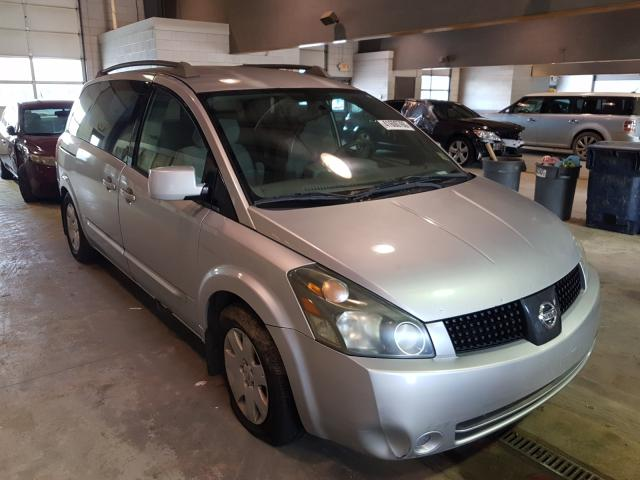Salvage cars for sale from Copart Sandston, VA: 2005 Nissan Quest S