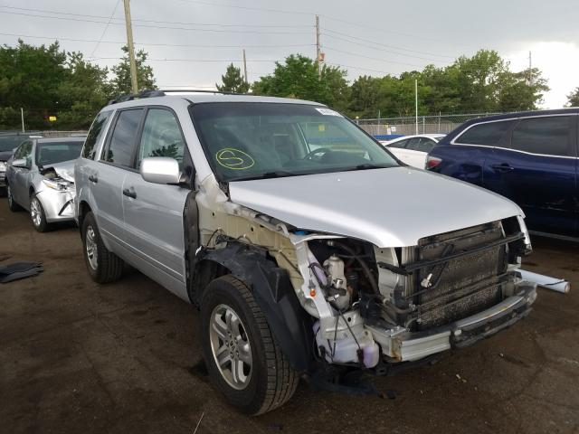 Honda Pilot EX salvage cars for sale: 2005 Honda Pilot EX