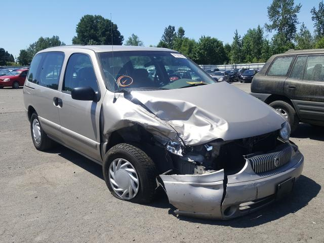 Mercury Villager salvage cars for sale: 2002 Mercury Villager