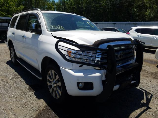 Salvage cars for sale from Copart Fredericksburg, VA: 2011 Toyota Sequoia LI