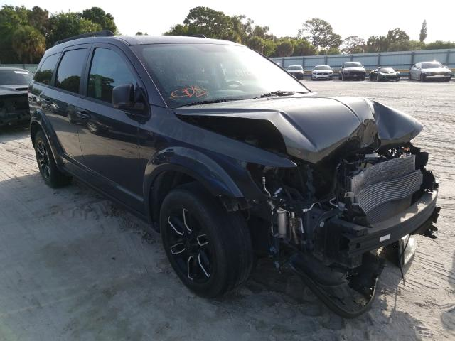 Salvage cars for sale from Copart Fort Pierce, FL: 2016 Dodge Journey SE