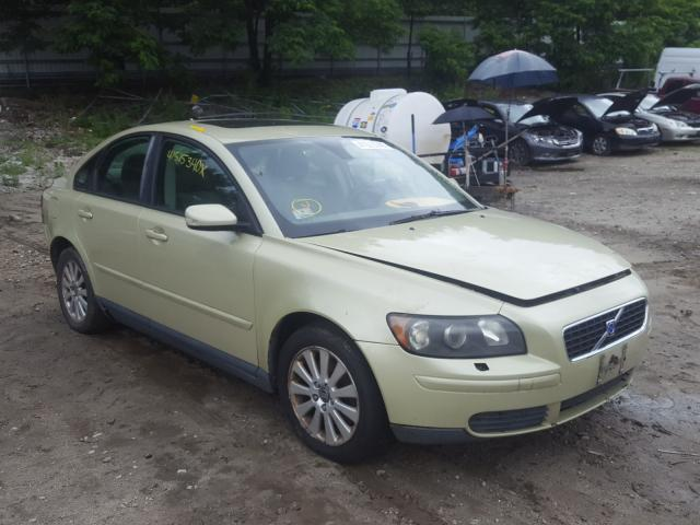 Volvo salvage cars for sale: 2005 Volvo S40 2.4I