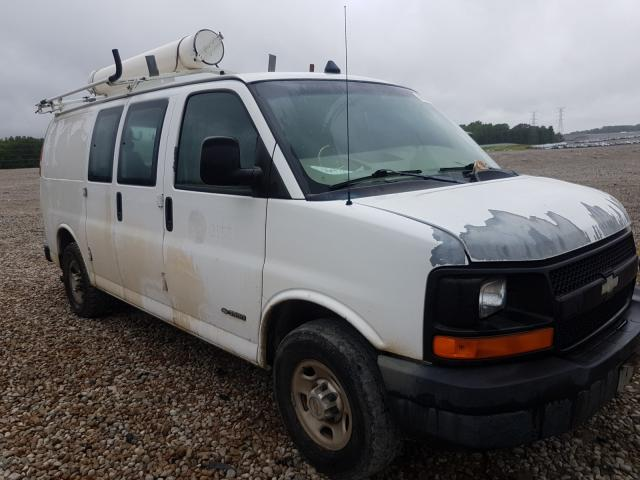 Chevrolet Express G3 salvage cars for sale: 2005 Chevrolet Express G3