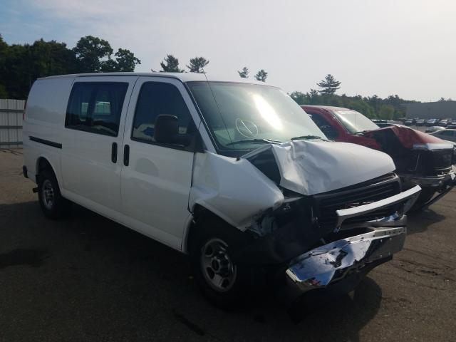 GMC Savana G25 salvage cars for sale: 2018 GMC Savana G25