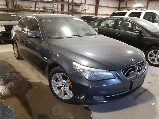 Salvage cars for sale from Copart Eldridge, IA: 2009 BMW 528 XI
