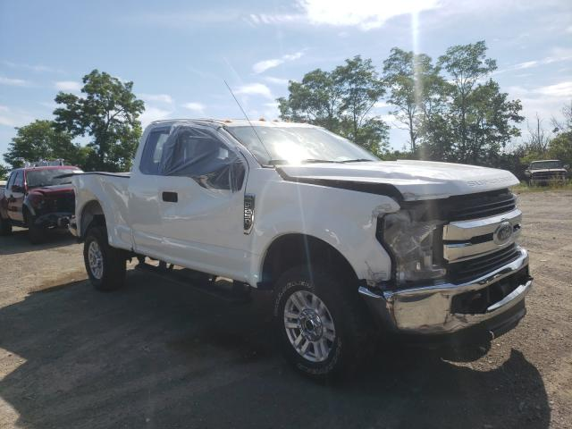 Salvage cars for sale from Copart Marlboro, NY: 2019 Ford F250 Super