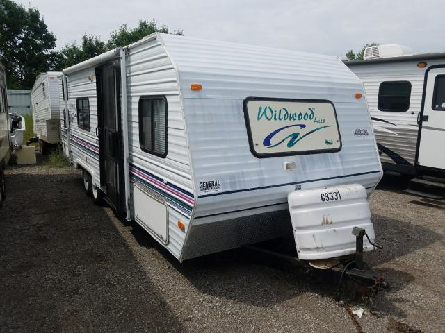 Other Travel Trailer salvage cars for sale: 2000 Other Travel Trailer