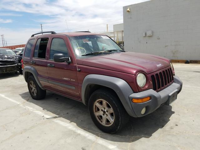 Jeep Liberty SP salvage cars for sale: 2003 Jeep Liberty SP