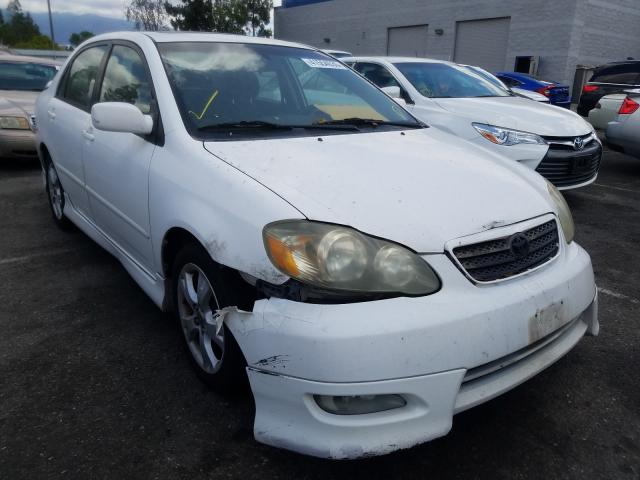 Salvage cars for sale from Copart Rancho Cucamonga, CA: 2005 Toyota Corolla XR