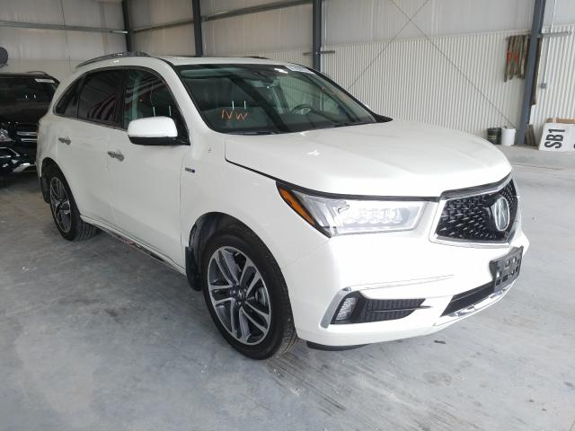 Acura MDX Sport salvage cars for sale: 2017 Acura MDX Sport