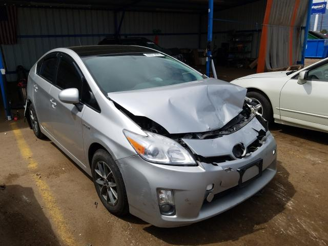 Toyota salvage cars for sale: 2010 Toyota Prius