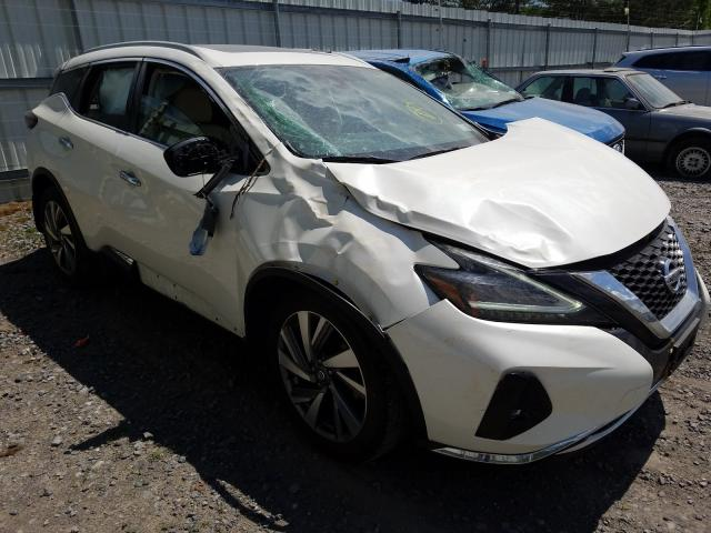 Nissan Murano S salvage cars for sale: 2019 Nissan Murano S