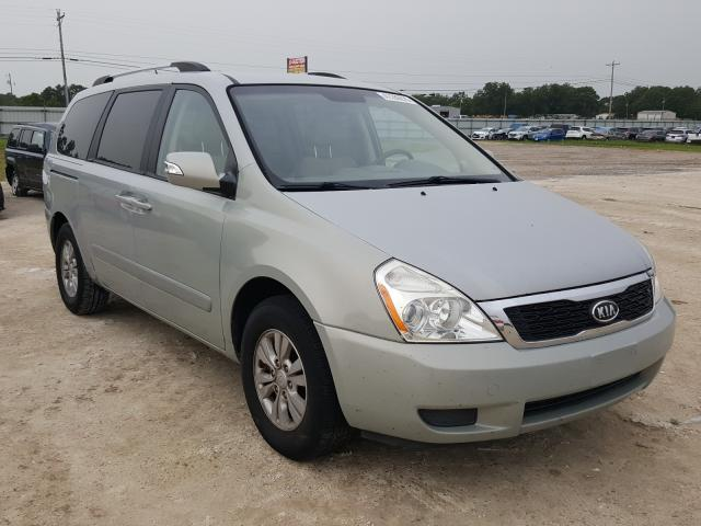 KIA Sedona LX salvage cars for sale: 2012 KIA Sedona LX