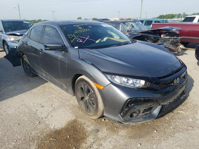 Salvage cars for sale from Copart Indianapolis, IN: 2019 Honda Civic EX