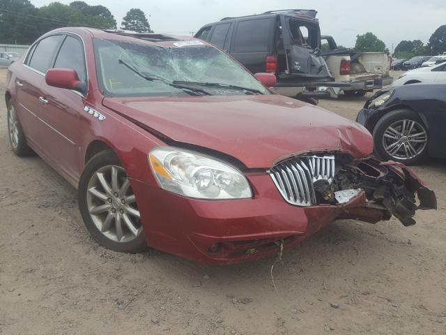 Buick salvage cars for sale: 2010 Buick Lucerne SU