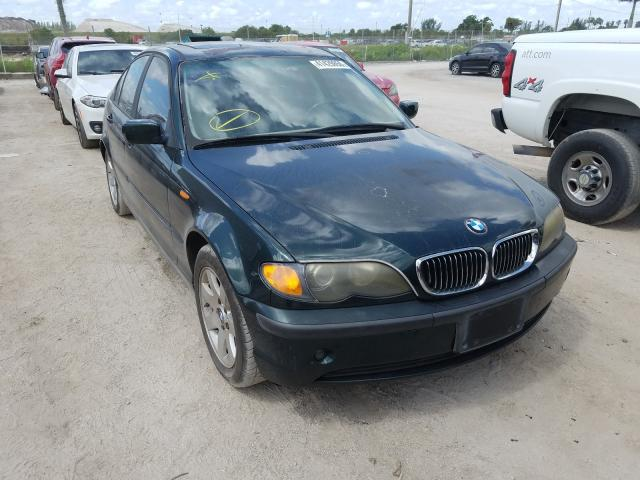 BMW 325 I salvage cars for sale: 2002 BMW 325 I
