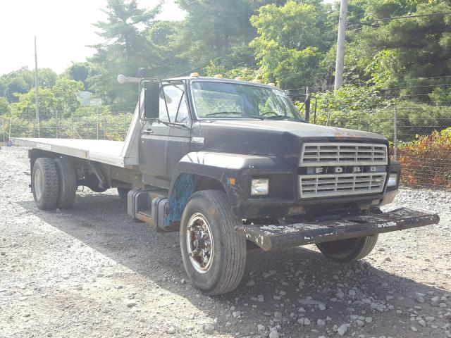 Ford F700 salvage cars for sale: 1982 Ford F700