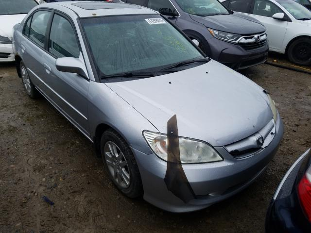 Salvage cars for sale from Copart Rocky View County, AB: 2005 Honda Civic LX