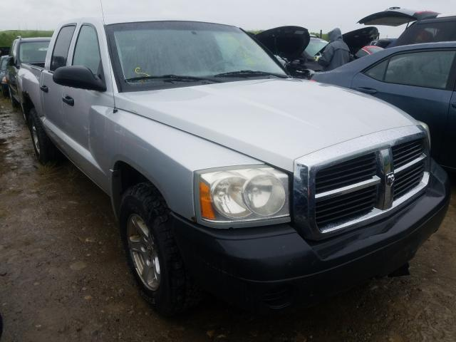 Salvage cars for sale from Copart Rocky View County, AB: 2005 Dodge Dakota Quattro