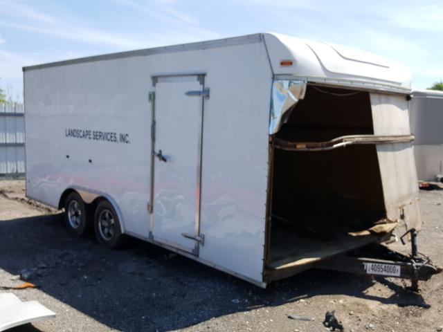 Utility Trailer salvage cars for sale: 2016 Utility Trailer
