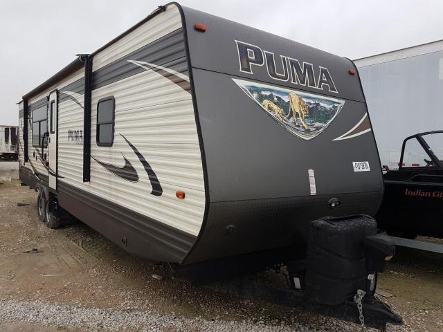 Wildwood Puma salvage cars for sale: 2017 Wildwood Puma