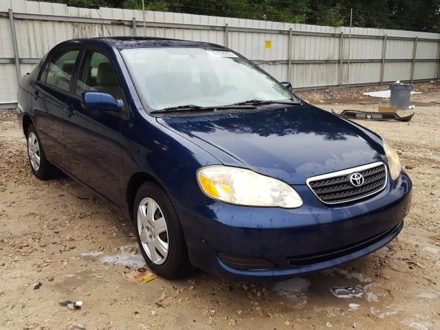Salvage cars for sale from Copart Midway, FL: 2007 Toyota Corolla